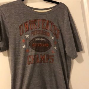 32fb8b4e348a Homage Shirts - Cleveland Browns Undefeated Preseason Champs Shirt